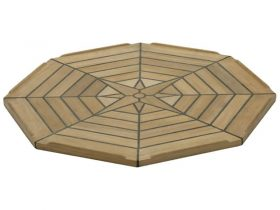 Table Teak Nautic Eight Octagonal 55Cm
