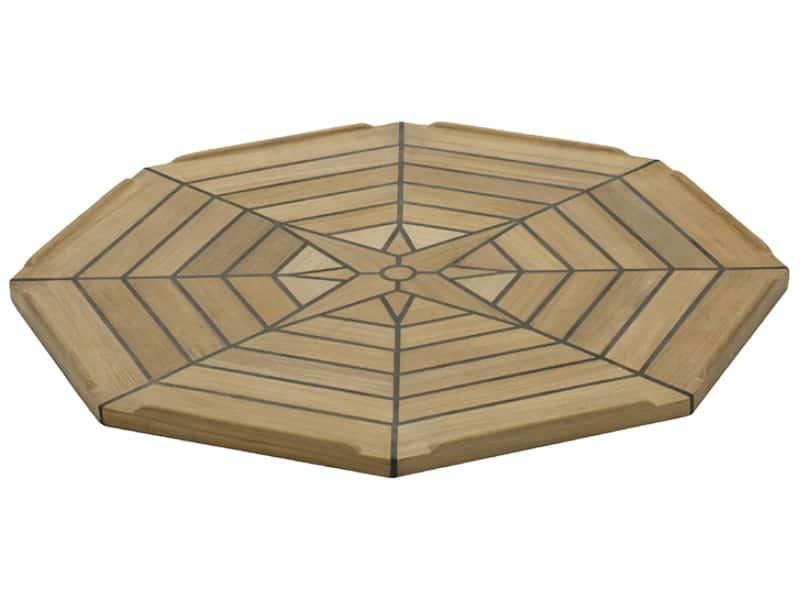 Table Teak Nautic Eight Octagonal 55Cm