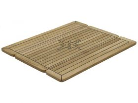 Table Teak Nautic Star Wg 2Xfold 60X68Cm