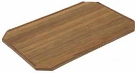 Table Teak Budget Plain Square 62X42Cm