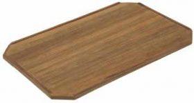 Table Teak Budget Plain Square 62X42Cm