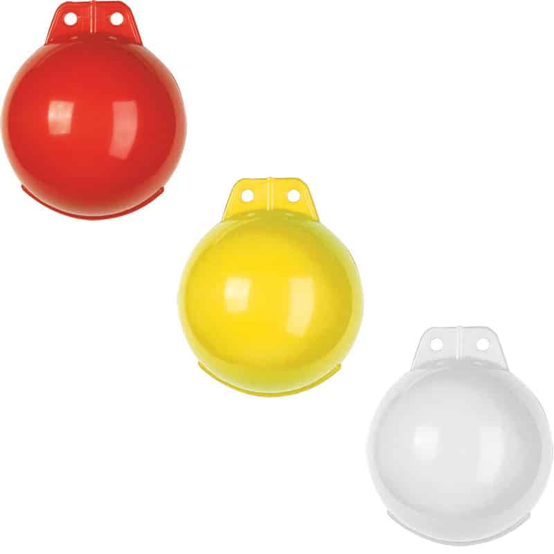 Buoy Mini Red Inflatable 160mm Dia