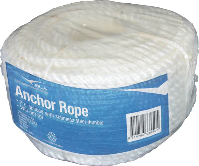 Rope Silver Anchor Coil 6mmx30M