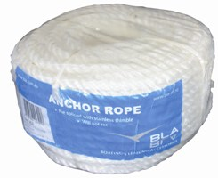 Rope Silver Anchor Coil 8mmx30M