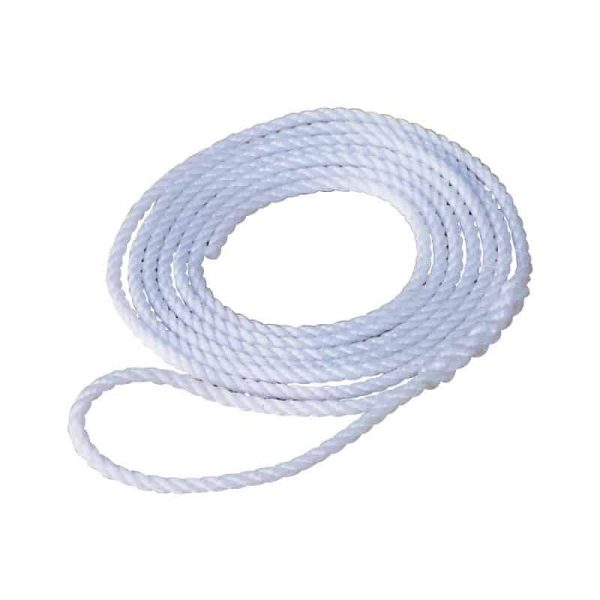 Rope Lanyard Silver 12mmx10M