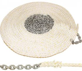Rope Nylon 8 Plait Ancr & Chn 50X12/10X6