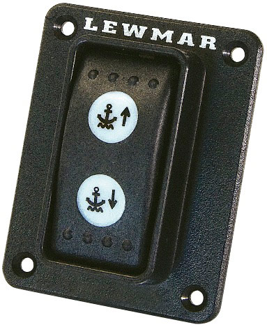 154486 Lewmar Guarded Rocker Switch Up-Off-Down
