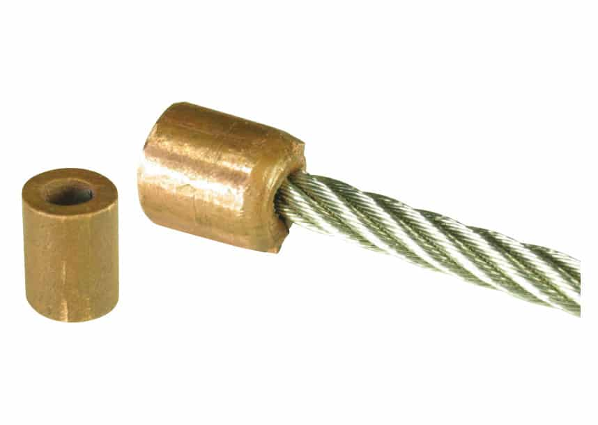 Swage Stop Copper 3.0mm-1/8