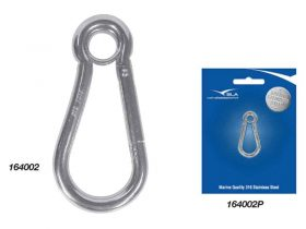 Hook Snap G316 S/S 50mm X 5mm