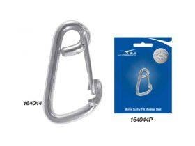 Hook Snap Asymetric G316 S/S 60mm X 6mm