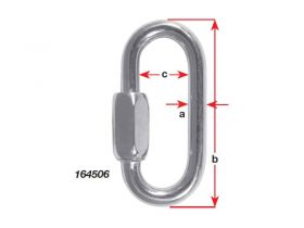 Quick Link G316 S/S 40mm X 4mm