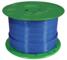 Cable Steering 3mm Galv Pvc Covered 150M