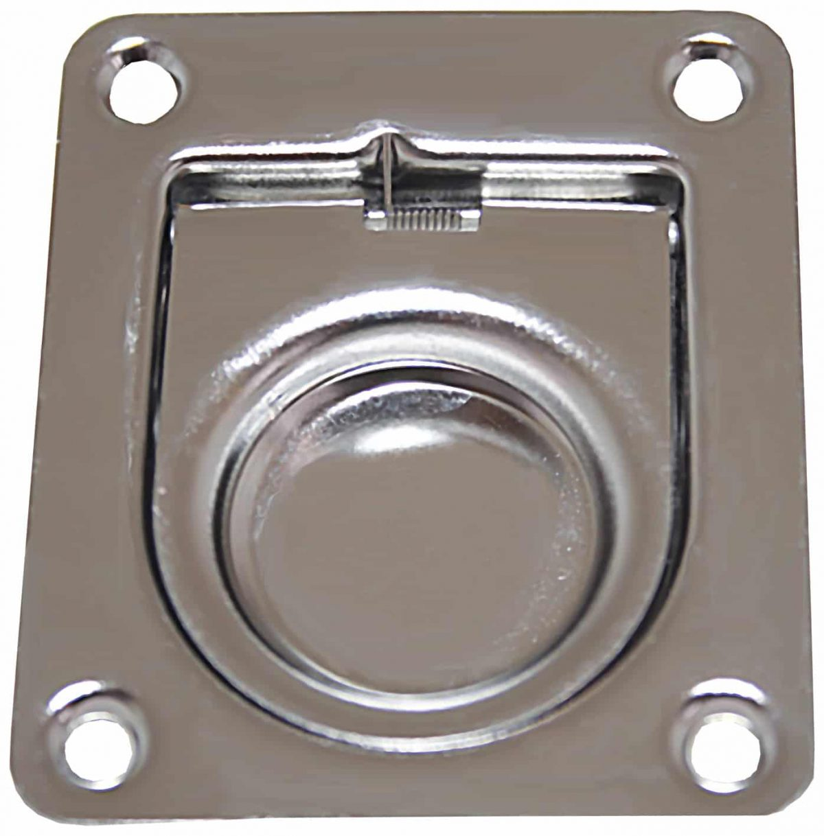 "Flush Pull Stainless  Steel ""Anti-Rattle"""