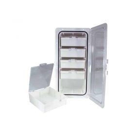 Storage Box 5 Drawer 187X363mm
