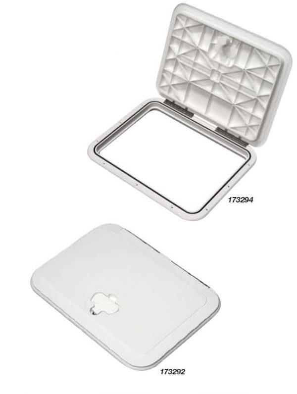 Hatch Access Jb White 138X303mm Id
