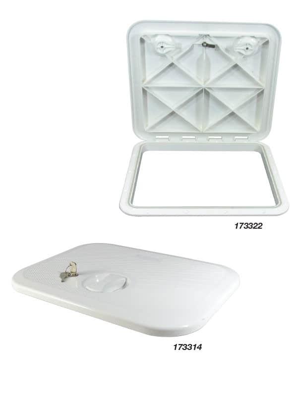 Hatch Access Europa White 283X375mm