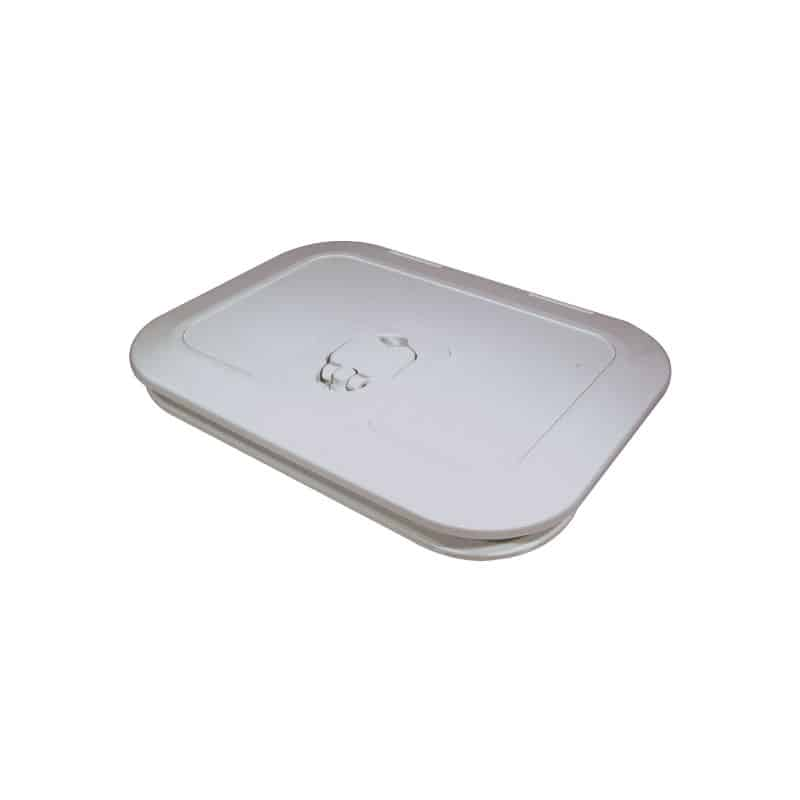 Hatch Access Luran Covered White 375X375