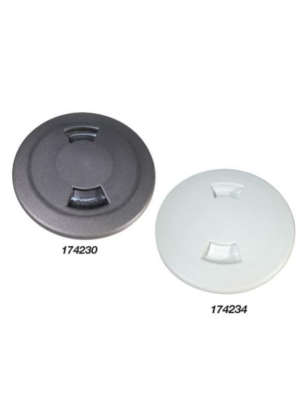 Inspection Port Covered Black 152mm Id