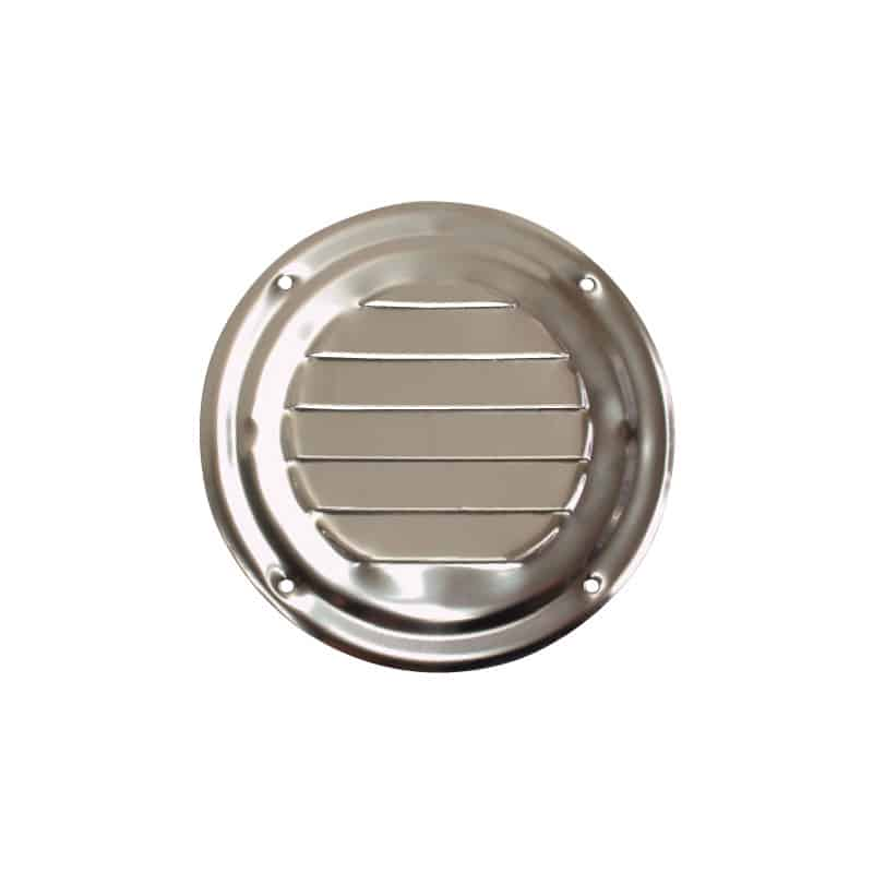 Vent Louvre Round S/S 102mm