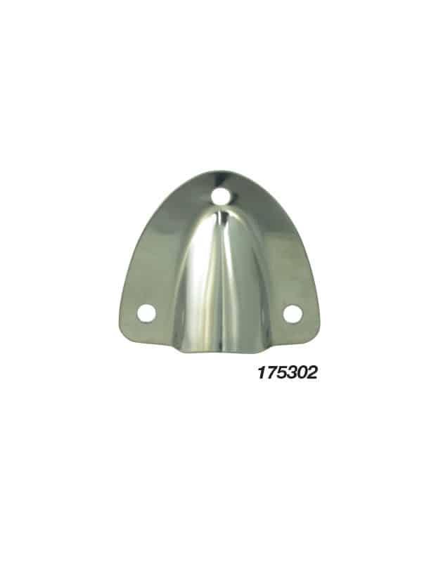 Vent Clam Midget S/S 40X45mm