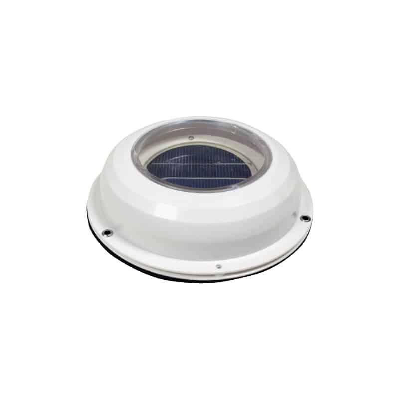 Vent Solar Power  White Abs 90mm Id