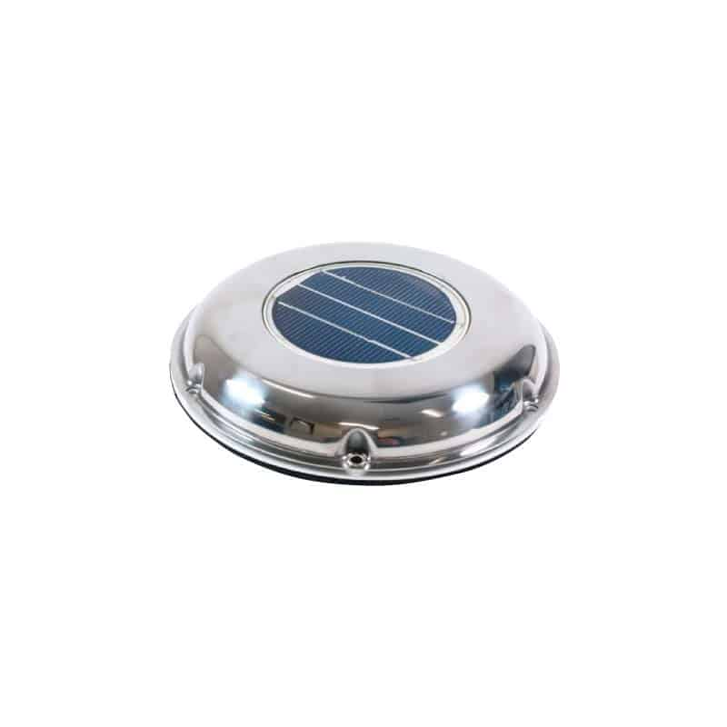 Vent Solar Power S/S Low Profil 120mm Id