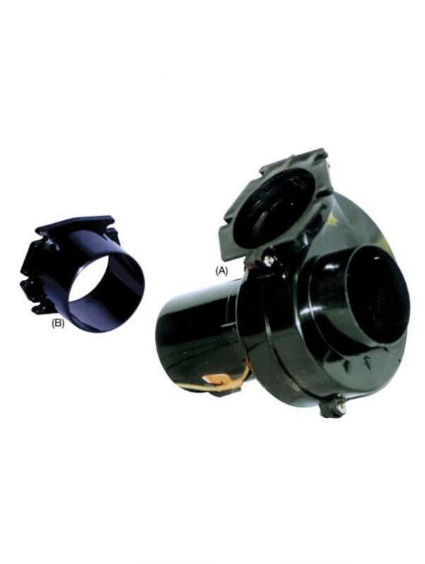 Blower Bilge Flange Mount 12V 75mm Hose
