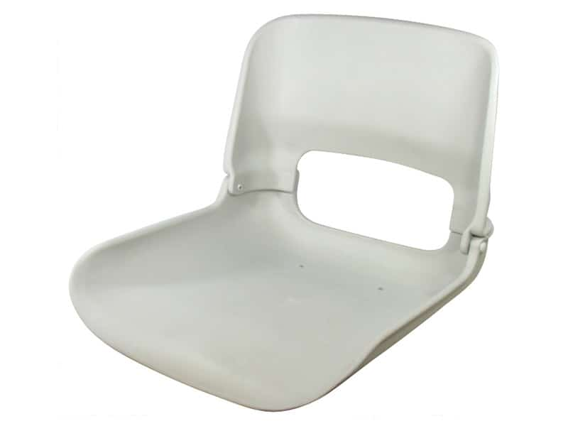 Seat Skipper Shell Only Grey