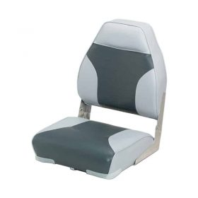 Seat High Back Fold Down 2 Tone Grey