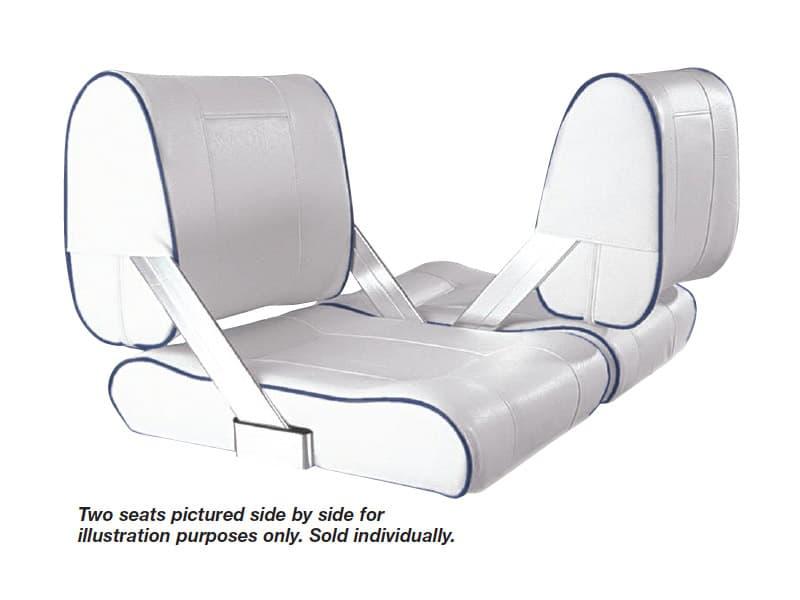 Seat Flip Back White