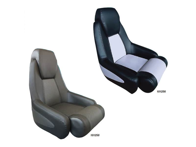 Seat Jea Black With Grey Trim Vinyl