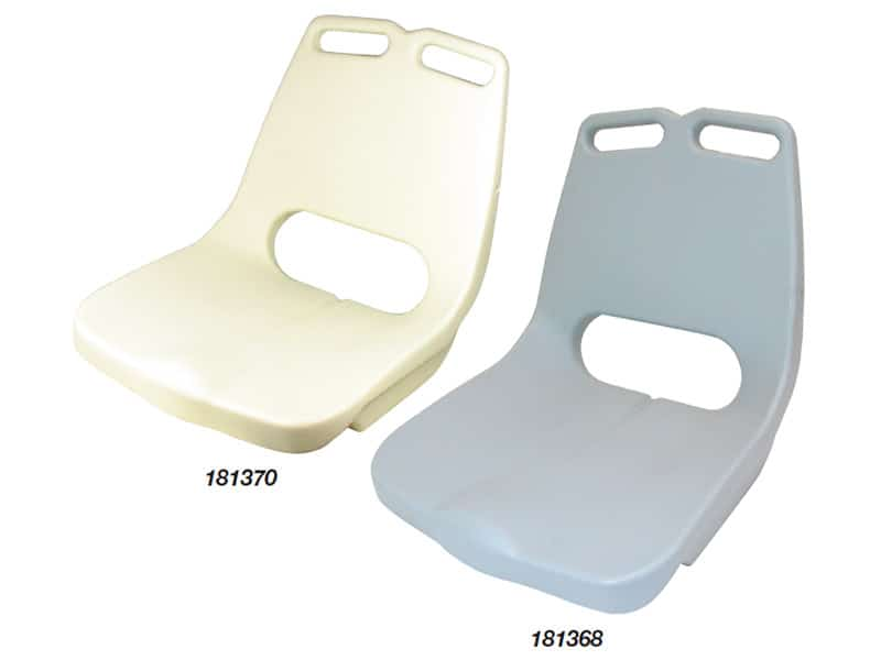 Seat Bay Shell Only Grey