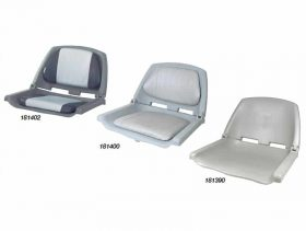 Seat Crew Moulded No Pads Grey