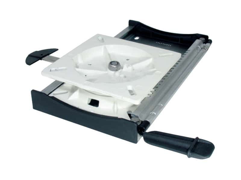 Seat Slide With Swivel 4 Pos Lock Alloy