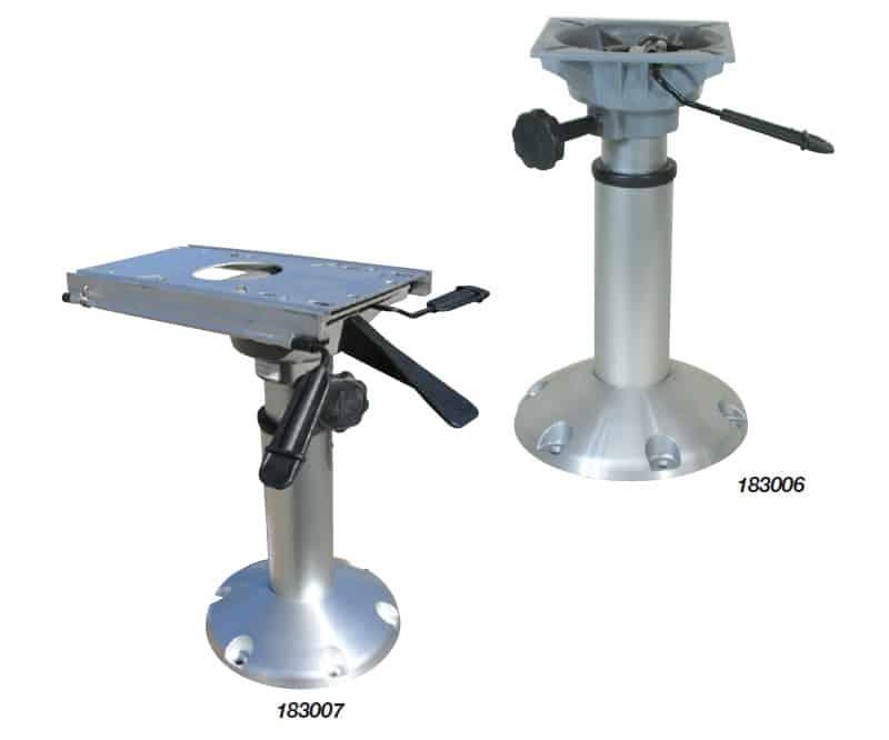 Pedestal Gas Adjust No Slide 370-505mm