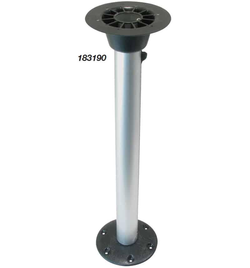 Pedestal Table Twist Lock Plastic Mount