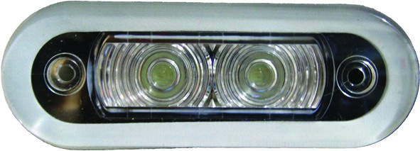 Light - 2 X LED Rectangular