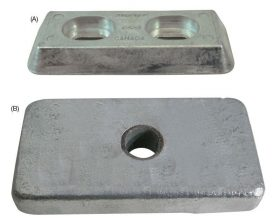 Anode Block With Holes 200X100X20mm