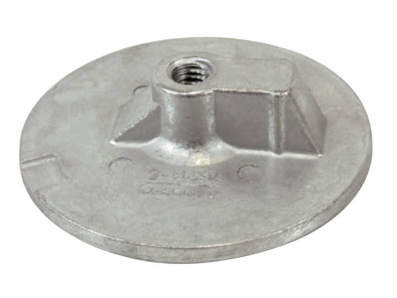 Anode Mercury Round Plate 76214-5