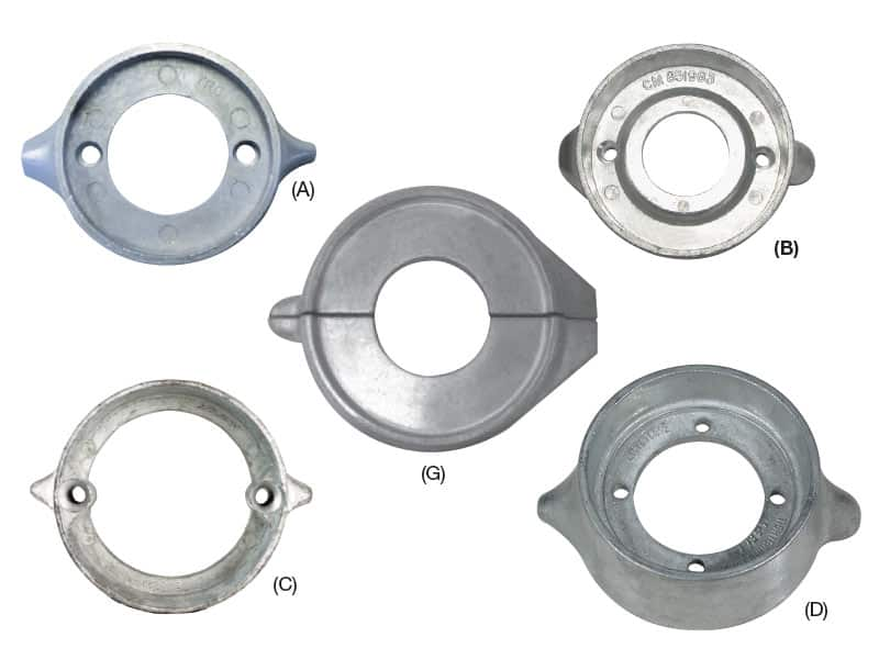 Anode Volvo Ring 270T-280 Drive 875815