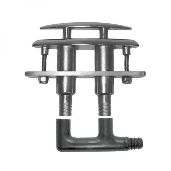 Cleat Drop Down Cast G316 S/S 152mm