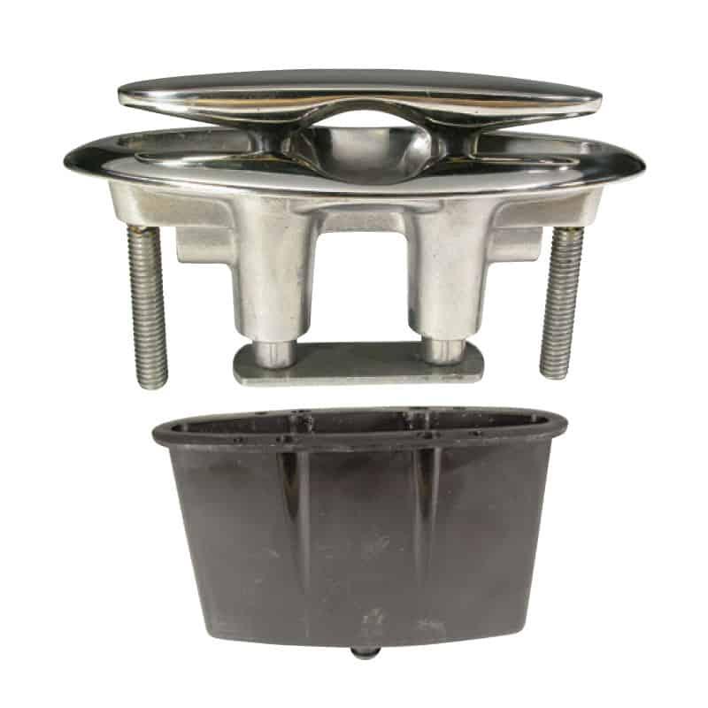 Cleat Flush Cast G316 S/S 175mm