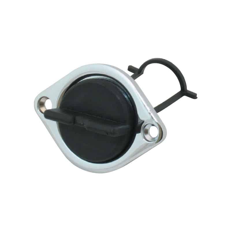 Drain Plug C/P Brass Base 38mm Cut Out