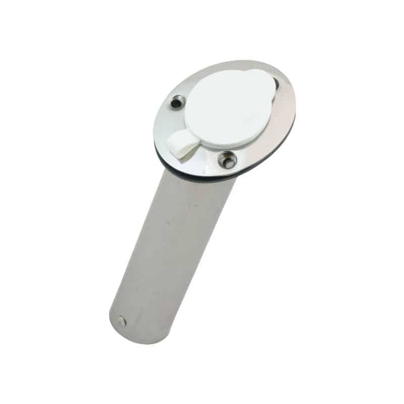 Rod Holder Flush C/W Cap Angled H/D S/S