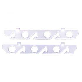 Rod Storage Rack White Polymer 6 Rods