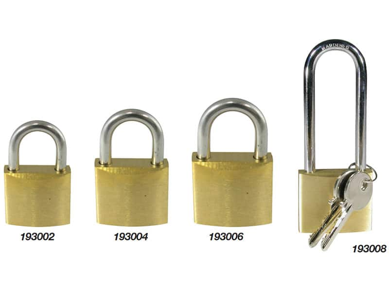 Padlock Brass With S/S Shackle 30mm