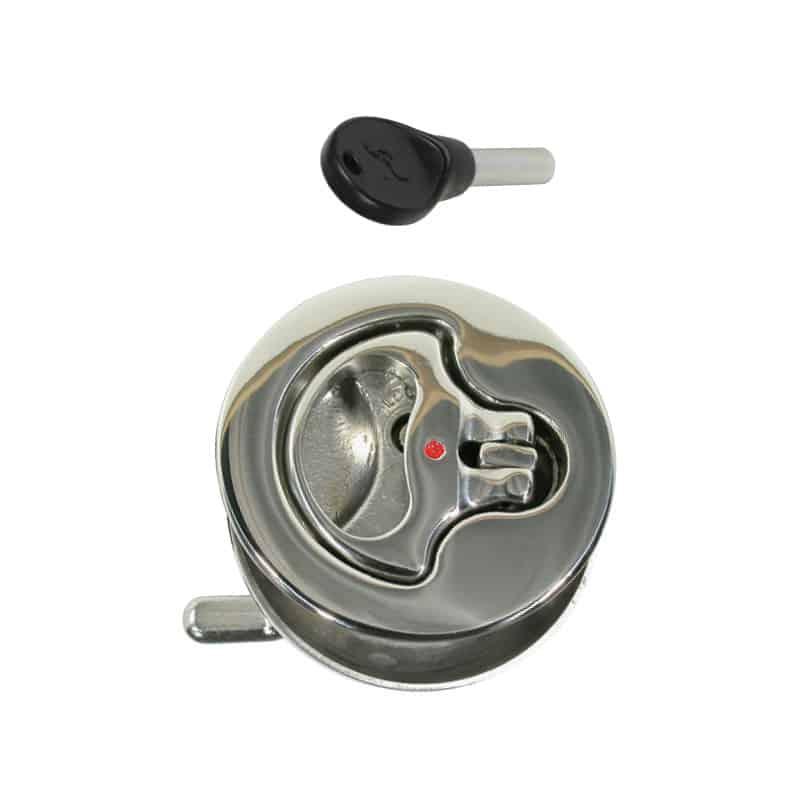 Catch Lift Ring C/W Lock S/S 64mm Od