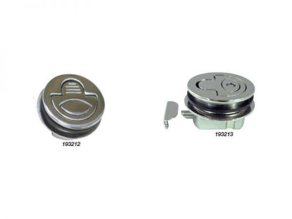 Catch Flush Pull Waterproof S/S 60mm Od