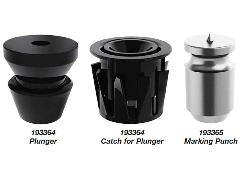 Catch Plunger Mini & Snap Receptor Set