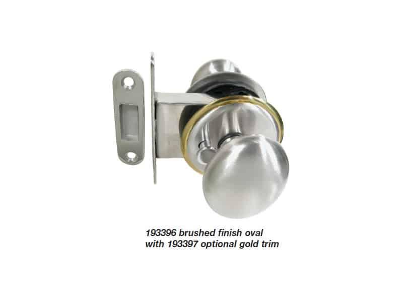 Lock Door Mag Priv Lever Mir S/S 19-25mm